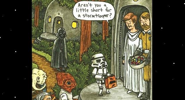 image - Halloween Darth Vader
